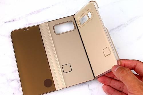 Samsung Galaxy S8 透視感應皮套 立架式 開箱介紹