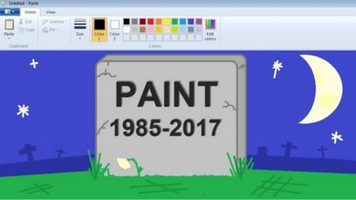小畫家 再會了 傳微軟打算砍掉32年歷史的小畫家