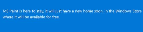 微軟宣布 小畫家 只是搬家 不會完全消失