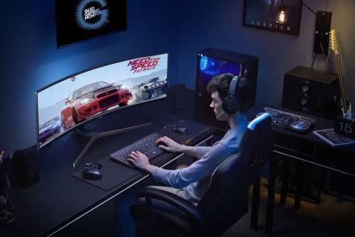 三星推出全球首創49吋32:9 CHG90 超寬電競曲面螢幕