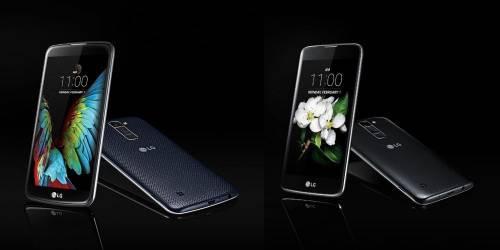 LG搶在2016 CES 前夕推出兩款 K 系列機種- K7 與 K10