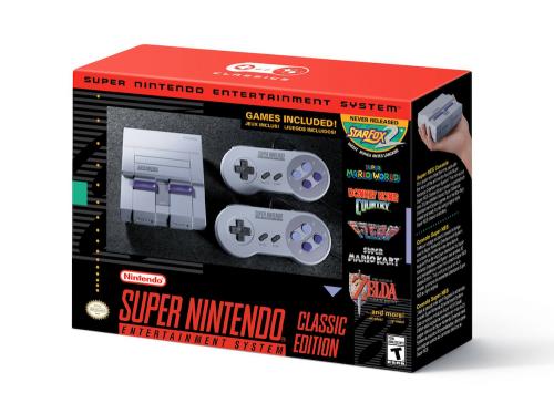 Super Nintendo 8月底開放預購 9月底北美率先販售