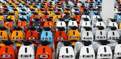 Gogoro 七月掛牌數創新高 電池交換達500萬次