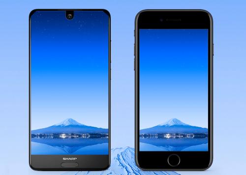 87.5 屏佔比全平面螢幕 Sharp Aquos S2 發表亮相