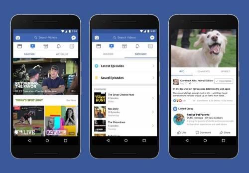 臉書推出影音專屬平台- Facebook Watch