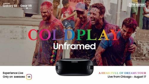 三星推出酷玩樂團 Coldplay 演場會 VR 直播