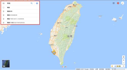 [Google小教室]查看 Google 地圖地點搜尋建議
