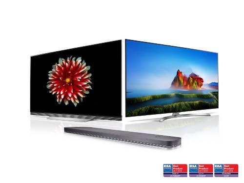 LG OLED TV再度榮獲EISA大獎 最新電視及Sound Bar獲得專家一致肯定