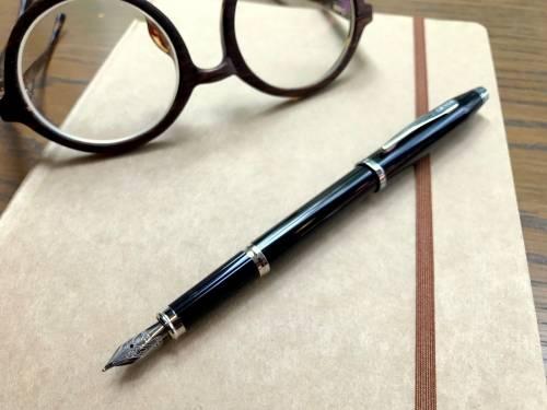 兼具質感與書寫體驗的經典 - 美國CROSS高仕 Century II 新世紀經典亮黑漆鋼筆 AT0086-102FS