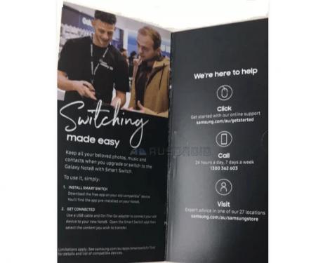 Note 8 廣告文宣曝光 6.3吋螢幕與雙鏡頭相機確認