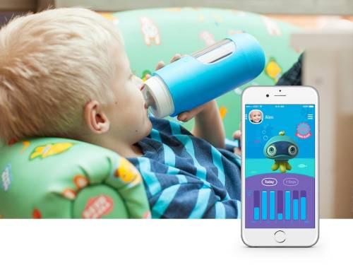 台灣之光 美國熱銷 Gululu 互動智能水壺 3D 版將登台 讓孩子愛上喝水