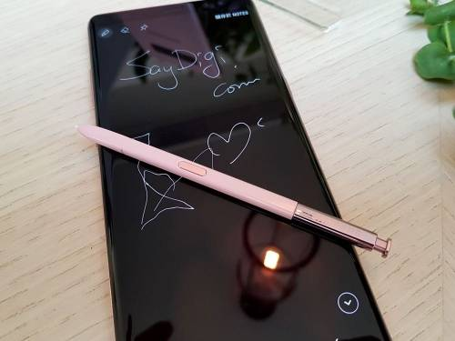 集浪漫與俐落於一身 三星 Note8 星紗粉搶先看