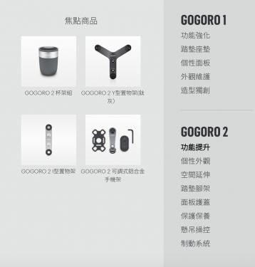 [電動車日記] 選購 GOGORO 2 配件之前 你需要知道的事