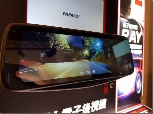 行車安全利器 PAPAGO! 推出 電子後視鏡 RAY