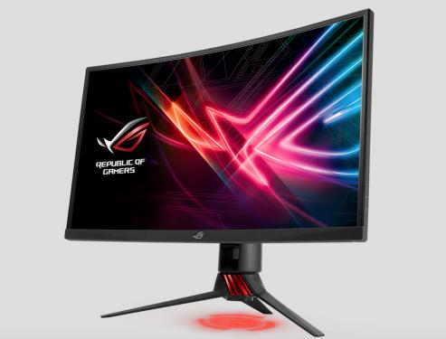 華碩玩家共和國推出全新 ROG Strix XG27VQ 曲面電競顯示器