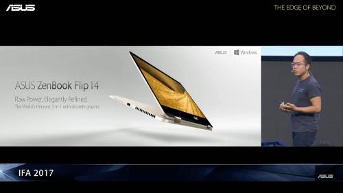 ASUS 發表ZenBook Flip VivoBook Flip 混合實境裝置