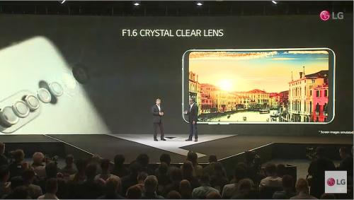 旗艦級影音攝錄手機 LG V30 發表亮相