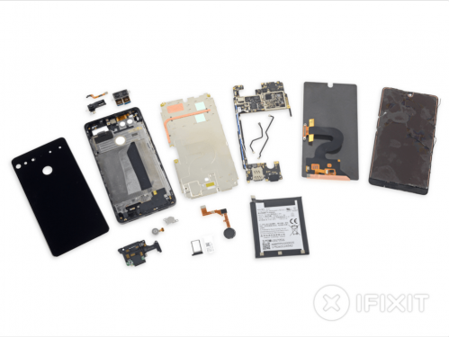 Essential Phone PH-1 成為iFixit最難拆解手機之一