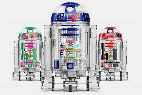 不用羨慕 自己組出自己風格的 R2-D2 !