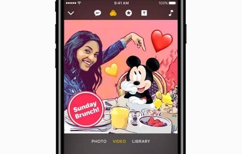 Apple 免費影音軟體 Clips 加入Disney 與 Pixar 明星角色!