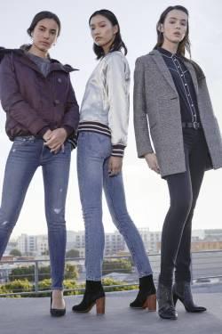 高腰緊身美腿新紀元!盡顯女孩復古丹寧魅力LEVI'S 4大中高腰Skinny 打造超模專屬身形比例