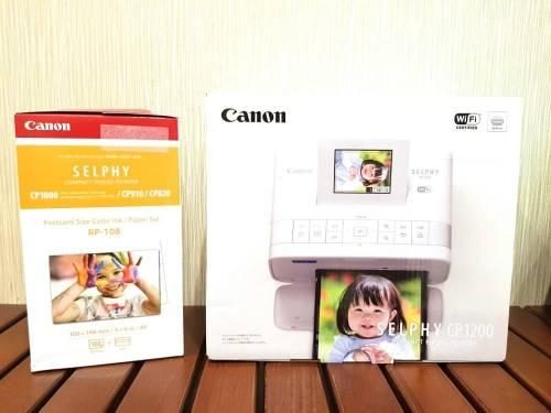 時間就是金錢! Canon CP1200 相片印表機 爸媽必備好物