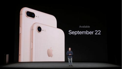 iPhone 8 與 iPhone X 發表會 重點快速整理