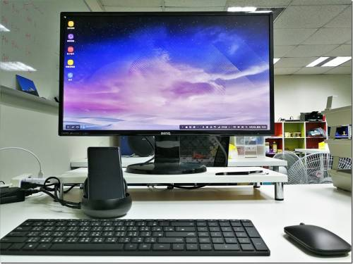 用手機完成電腦的工作 Samsung DeX Station