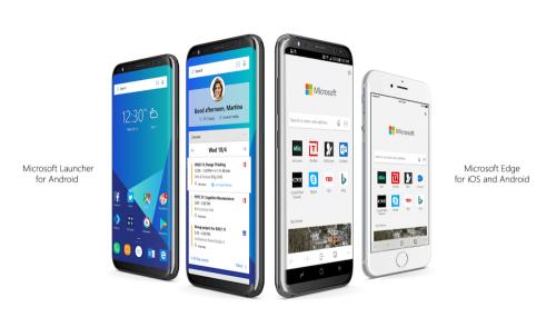 微軟 推出適用於Android與iOS系統的Edge瀏覽器