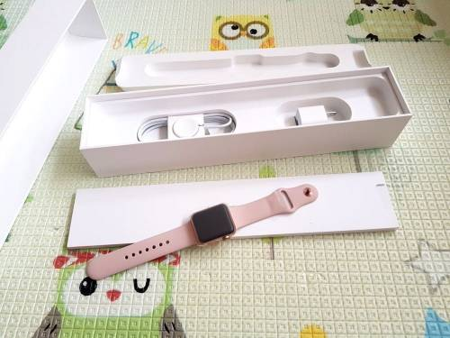 [開箱] 最新Apple Watch 3 與運動型錶環開箱!