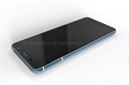 HTC U11 Plus 360度渲染圖曝光