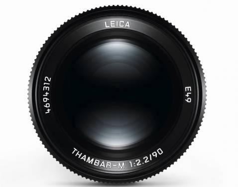 傳奇鏡頭榮耀歸來 徠卡 相機推出Thambar-M 1:2.2 90複刻版鏡頭