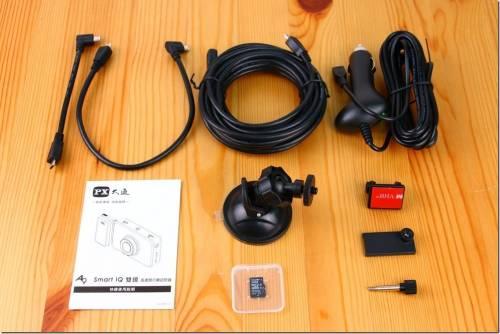 隨環境切換拍攝影像 大通 A9 Smart IQ 雙鏡 行車記錄器推薦