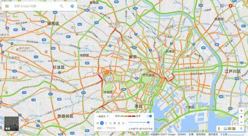 [Google小教室]查看 Google 地圖即時路況