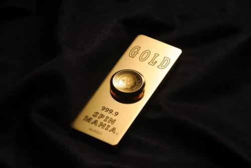 有錢人才玩得起 SpinGOD 999.9純金 指尖陀螺