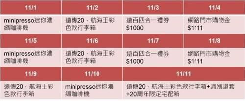 2017 年遠傳網路門市「11.11購物節」優惠攻略