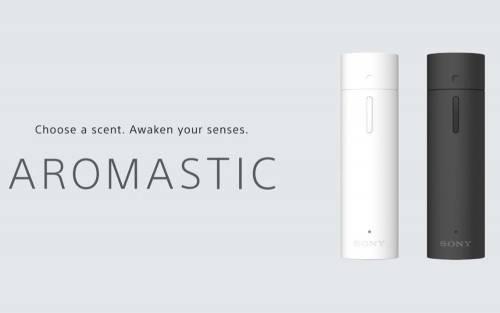 Sony 推出個人香氛棒 AROMASTIC 隨身攜帶想要的香味!