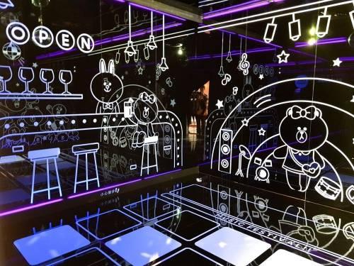 LINE FRIENDS x 三星體驗館 跟熊大一起來趟Galaxy體驗輕旅行