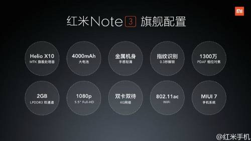 小米年終發表會 紅米Note3 小米平板2與空氣清淨機2齊亮相