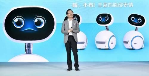 華碩 Zenbo 前進大陸 攜手騰訊發表Zenbo Qrobot小布