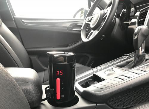 溫度 魔法師車載控溫杯 在寒冷冬天裡溫暖你的身心靈
