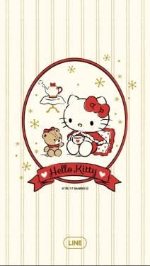 [快訊] LINE 凱蒂貓 Hello Kitty 特別主題 24小時免費下載!