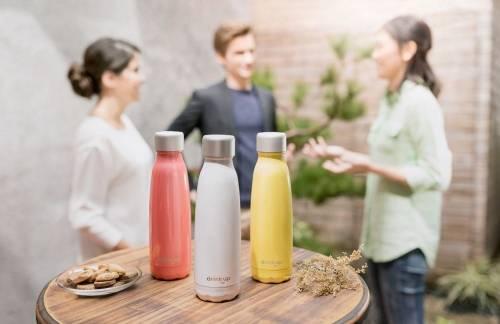 時尚 智能兼具 DrinKup 智慧保溫瓶 讓喝水變得好聰明!