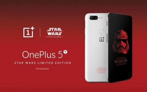 搶攻星戰潮 一加將推出 OnePlus 5T 星際大戰 限定版