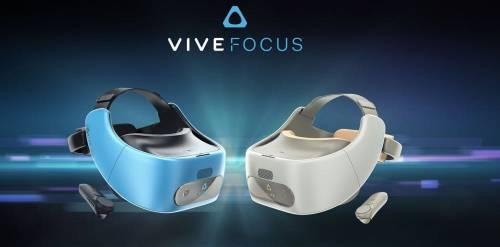 HTC 獨立穿戴式裝置 VIVE FOCUS 12日起中國開放預購