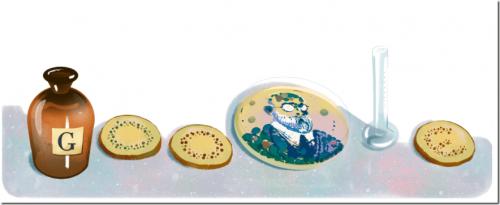 現代細菌學之父 Robert Koch 登上 Google Doodle