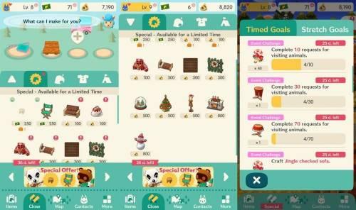 《動物之森》手遊版推出聖誕節限定活動 有特定服飾和家具!