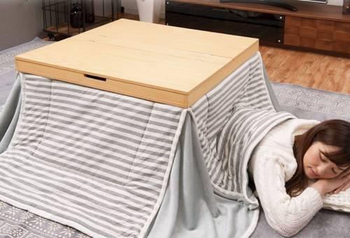 讓日式 暖桌 在寒冷的冬天裡溫暖你的身體