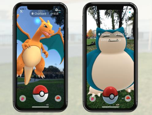 Pokemon GO AR+新功能釋出 iOS版本先行
