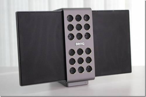 靜電薄膜技術加持 BenQ treVolo 靜電藍牙喇叭 少了箱音 聲音更純淨